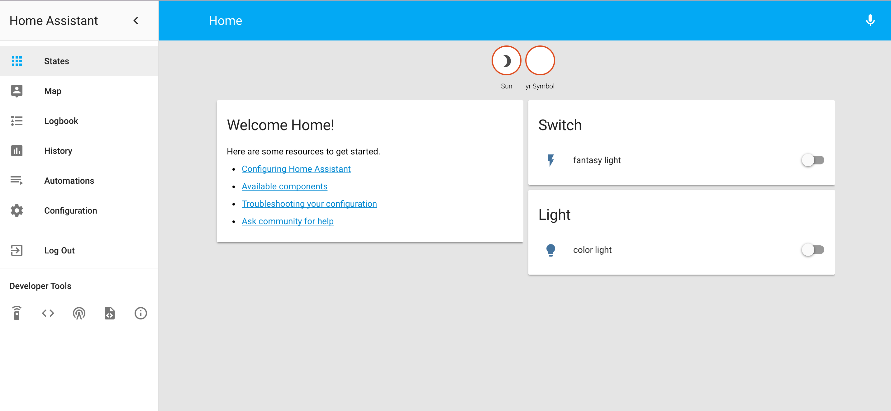 Home Assistant 桌面