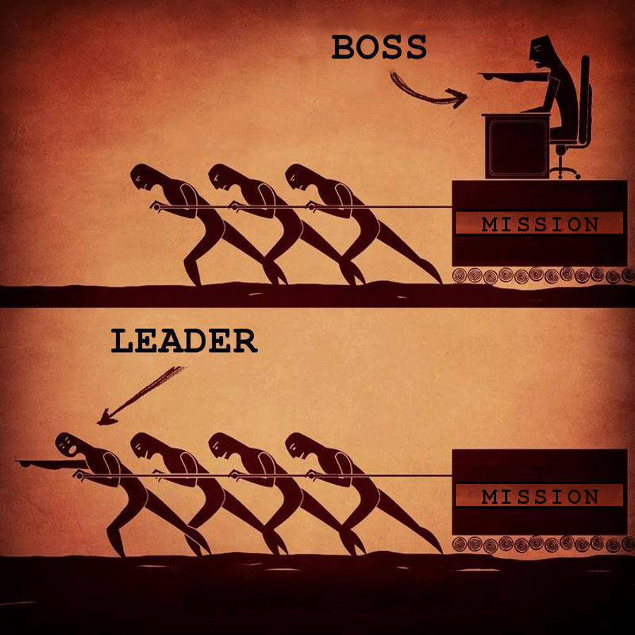 Leader vs Boss